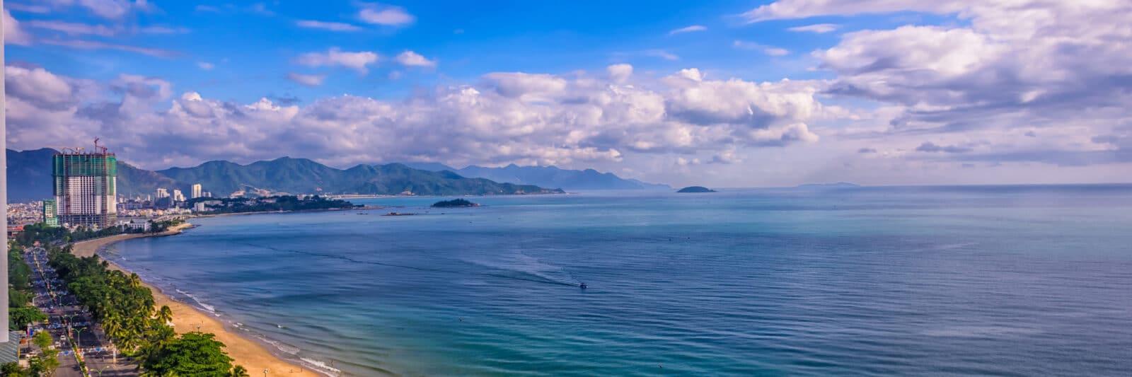 Khanh Hoa Vietnam Coastline