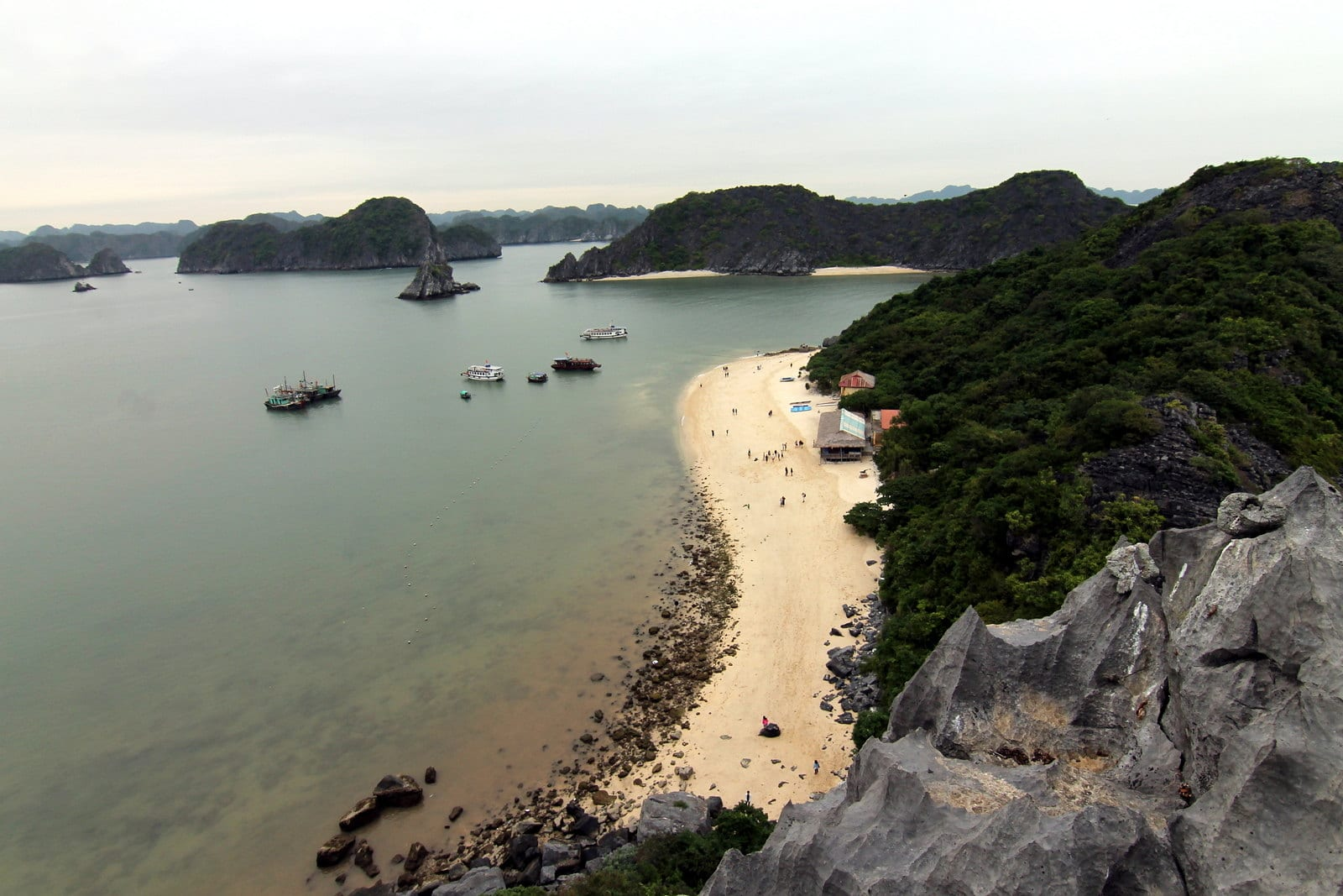 Image of the beach at Monkey Island in Vietnam